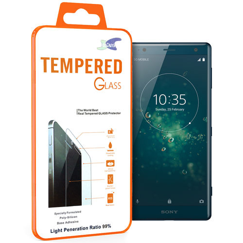Calans 9H Tempered Glass Screen Protector for Sony Xperia XZ2 - Clear
